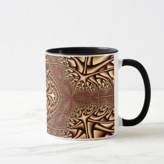 Bronze Kaleidoscope Fractal Mug Mug