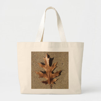 Bronze Leaf Canvas Bags