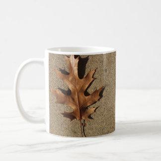 Bronze Leaf Coffee Mug