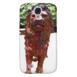 Bronze Lion - Lion Heart Design Galaxy S4 Covers