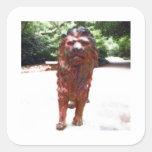 Bronze Lion - Lion Heart Design Stickers