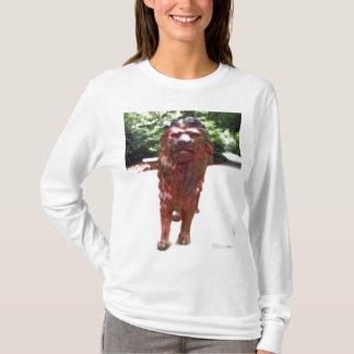 Bronze Lion - Lion Heart Design T-Shirt