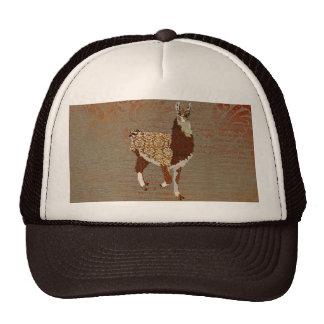 Bronze Llama Lid Trucker Hat