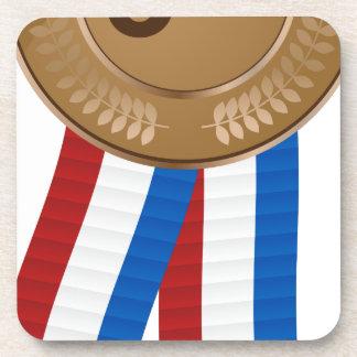 Bronze Medal Coaster