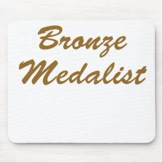 Bronze Medalist Mouse Pad