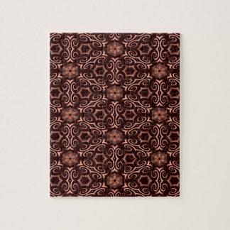 Bronze optical illusion jigsaw puzzle