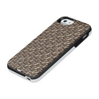 Bronze Pattern IPhone 5/5S Battery Case