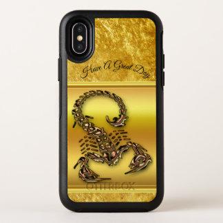 Bronze Poisonous scorpion very venomous insect OtterBox Symmetry iPhone X Case