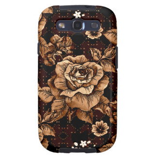 Bronze Roses Galaxy SIII Cover