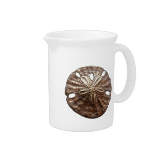 Bronze Sand Dollar Beverage Pitcher