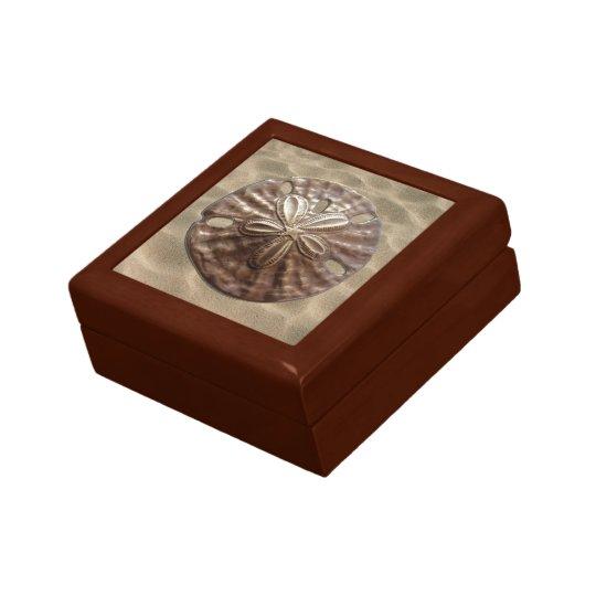 Bronze Sand Dollar Gift Box