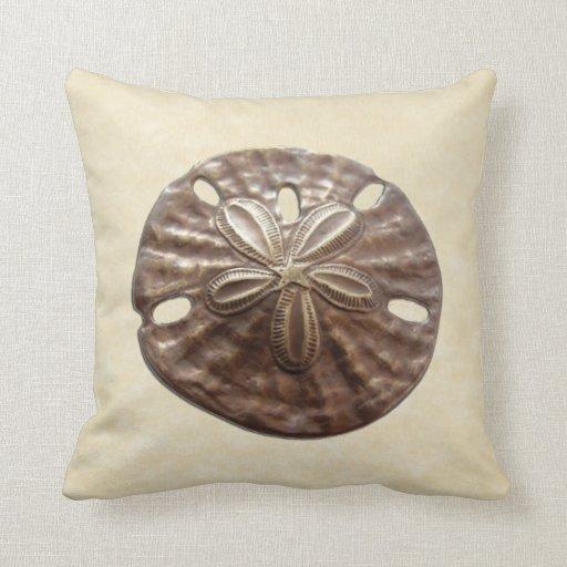 Bronze Sand Dollar Pillows