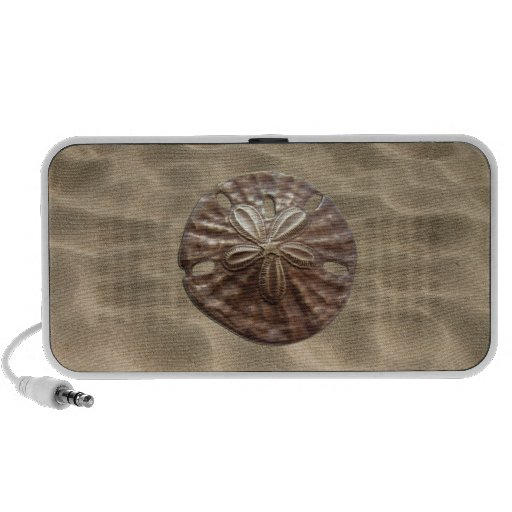 Bronze Sand Dollar Portable Speakers