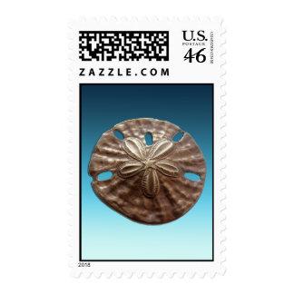 Bronze Sand Dollar Postage Stamps