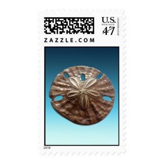 Bronze Sand Dollar Stamp