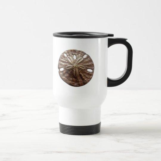 Bronze Sand Dollar Travel Mug