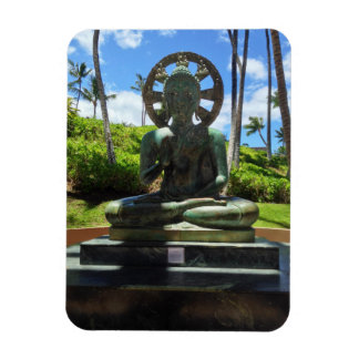 Bronze Seated Buddha, Waikoloa, Hawaii Magnet