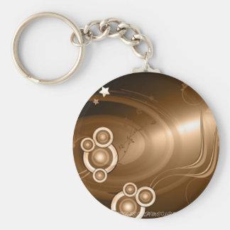 Bronze Sonic Keychain