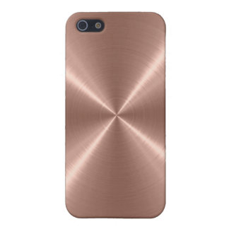 Bronze Stainless Steel Metal Case For iPhone SE/5/5s