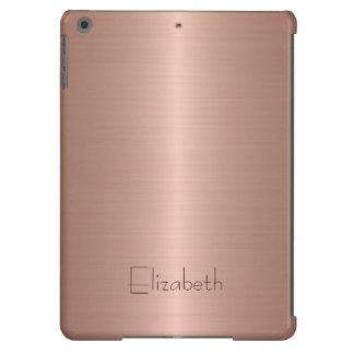 Bronze Stainless Steel Metal iPad Air Cover