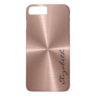 Bronze Stainless Steel Metal Look iPhone 7 Plus Case