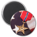 bronze star magnet
