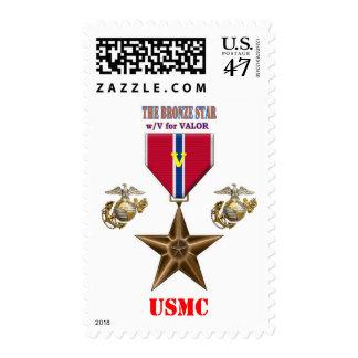 BRONZE STAR USMC POSTAGE