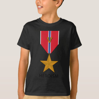 Bronze Star With 'V' - Heroism T-Shirt