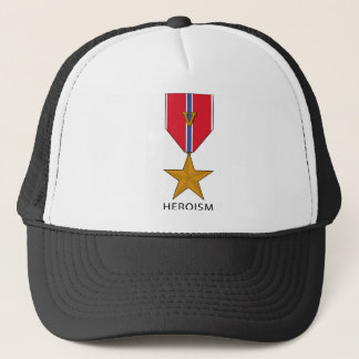Bronze Star With 'V' - Heroism Trucker Hat