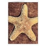 Bronze Starfish Card