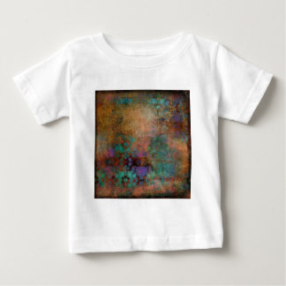 Bronze, Teal, Purple Abstract Baby T-Shirt