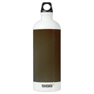Bronze texture water bottle