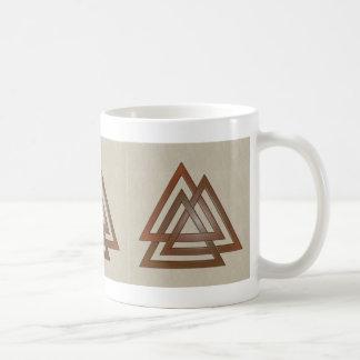 Bronze Valknut Mug