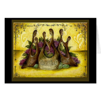 Bronze Wedding Anniversary: Jupigio-Artwork.com Greeting Card