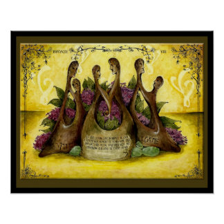 Bronze Wedding Anniversary : Jupigio-Artwork.com Poster