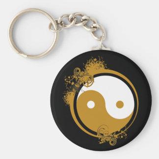 Bronze Yin Yang Key Chains