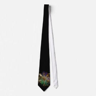 Bronzed Dragon Tie
