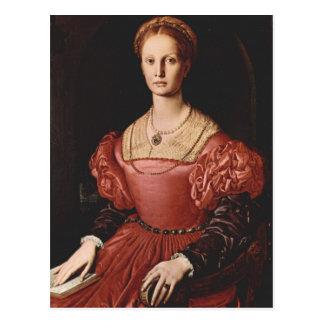 Bronzino - Lucrezia Panciatichi - 1540 Tarjetas Postales