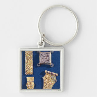 Brooch and buckles keychain