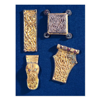 Brooch and buckles postcard