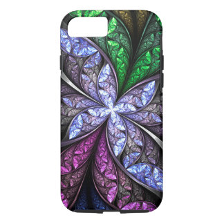 Brooch Frost Floral Glass 1 iPhone 8/7 Case