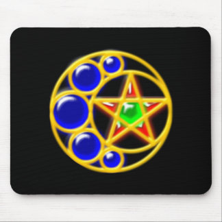 brooch media luna estrella brosche crescent star tapete de raton