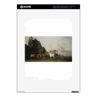 Brood Mares and Foals by George Stubbs iPad 3 Decals