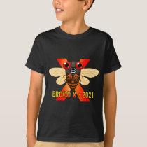 Brood X Cicadas Tshirt for Boys