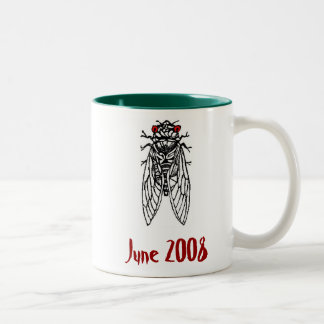Brood XIV Cicada Mug