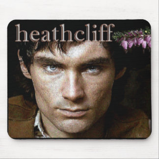 Brooding Heathcliff portrait Mouse Pad