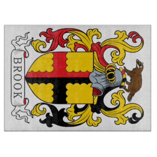 Brook Family Crest Cutting Board