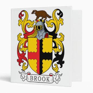 Brook Family Crest Vinyl Binder