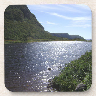 """""""Brook in the Mountains"""" Newfoundland Coaster Set"""