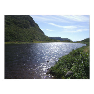 """""""Brook in the Mountains"""" Newfoundland Photo Print"""